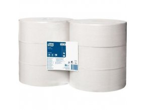 Toaletní papír v Jumbo roli Tork Universal 1vrstva T1, 6ks
