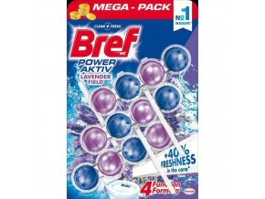 BREF WC power activ gel 3x50gr