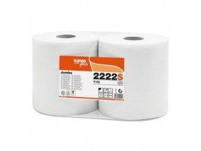 Toaletní papír Jumbo role Celtex S-Plus 2vrstvy, 6ks