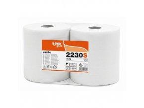 Toaletní papír Jumbo role Celtex Save plus 2vrstvy, 6ks