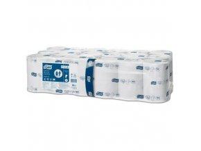 Bezdutinkový toaletní papír Tork Mid-Size Advanced 2vrstvy bílý T7, 36ks