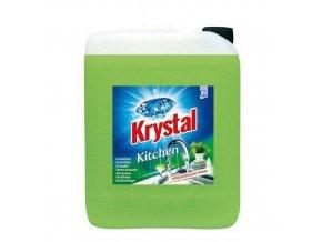 Krystal kuchyně 5l zelený