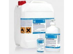 Alkoholová dezinfekce rukou Septoderm Gel 5l