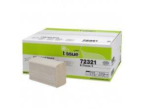 Papírové ručníky skládané Celtex BIO E-Tissue 2vrstvy, 3000ks