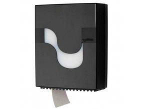 Zásobník Celtex na toaletní papír Mini černý plast