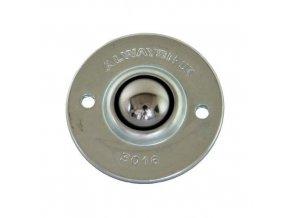 Kuličková kladka s přírubou, průměr 15 mm