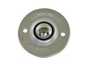 Kuličková kladka s přírubou, průměr 19 mm