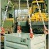 Vázací řetěz s okem a čtyřmi háky, do 17 000 kg