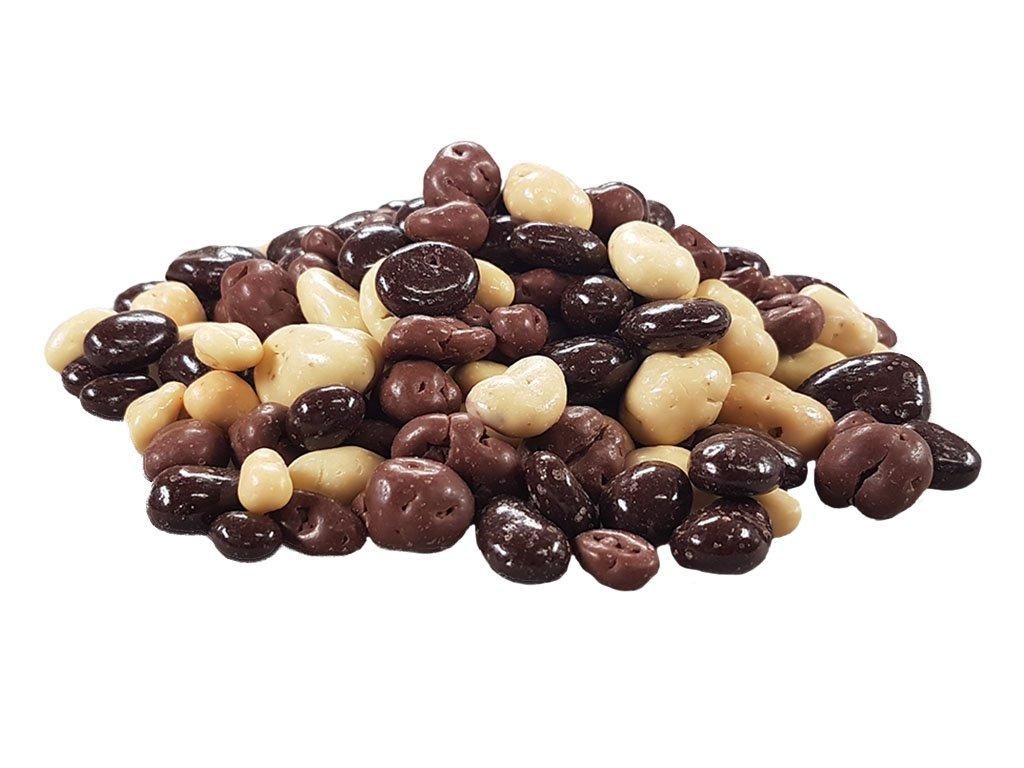 Ovoce v čokoládě a polevách