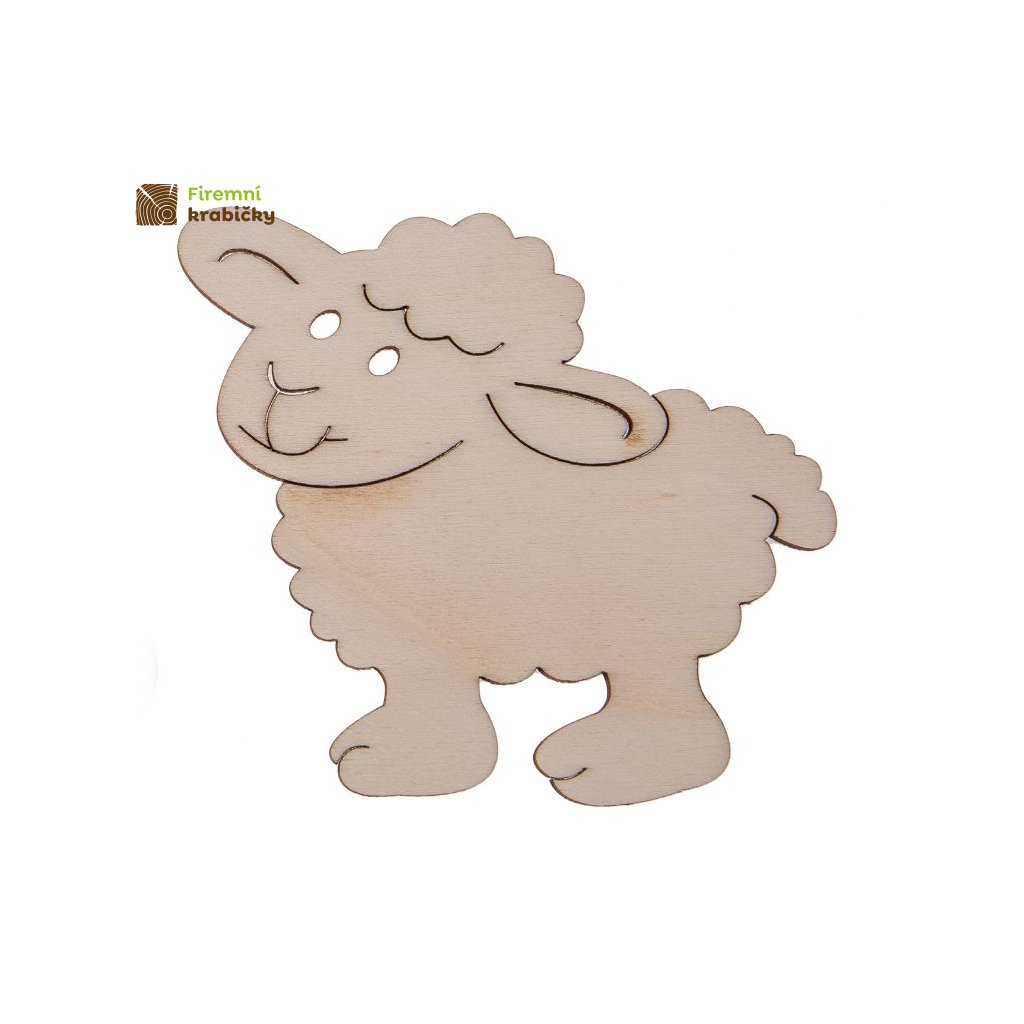 drewniana owieczka
