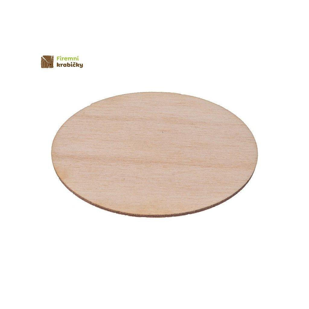 drewniana elipsa 35x55 cm 1 szt