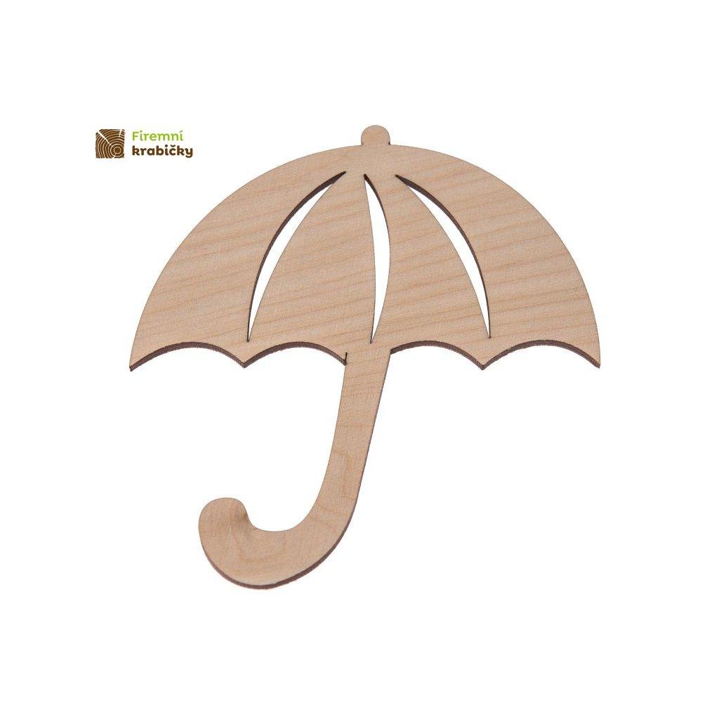 drewniana parasolka
