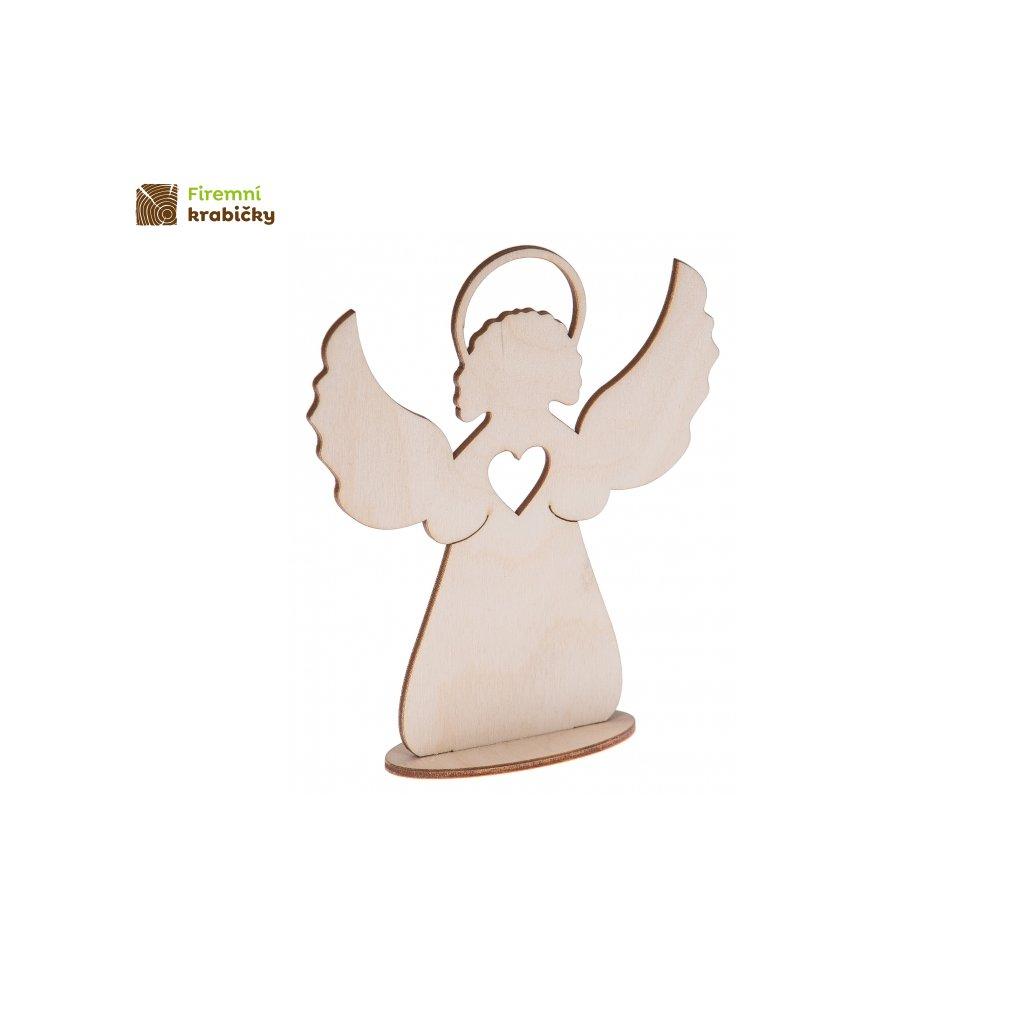 aniolek na podstawce 15 cm