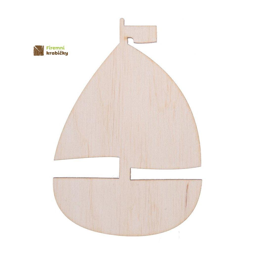 drewniana zaglowka lodka