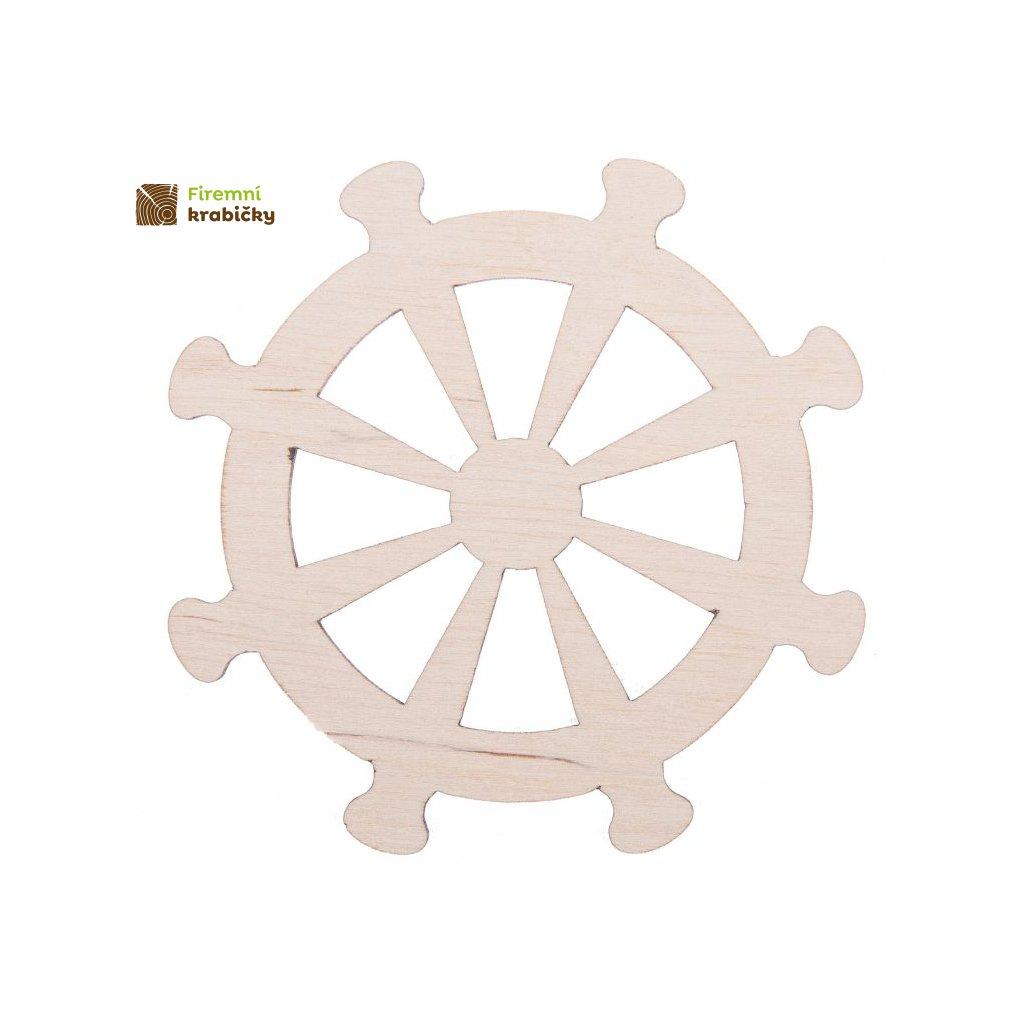 drewniane kolo marynarskie sterowe