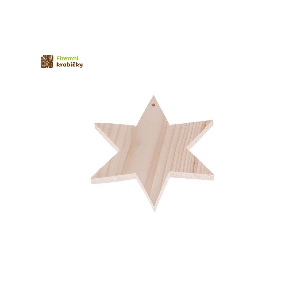 gwiazdka zawieszka 17x17 cm