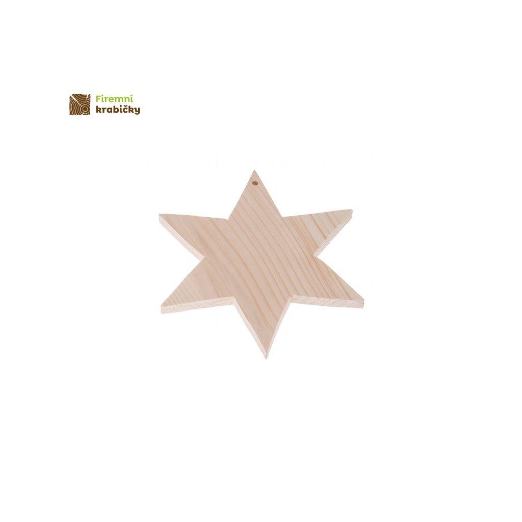 gwiazdka zawieszka 22x22 cm