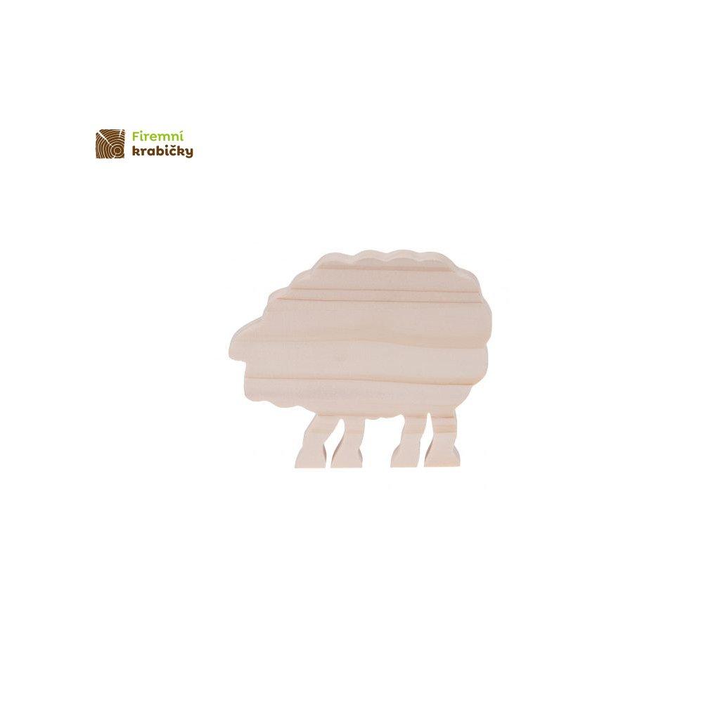 drewniany baranek