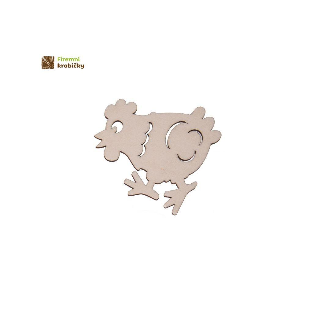 drewniana kura