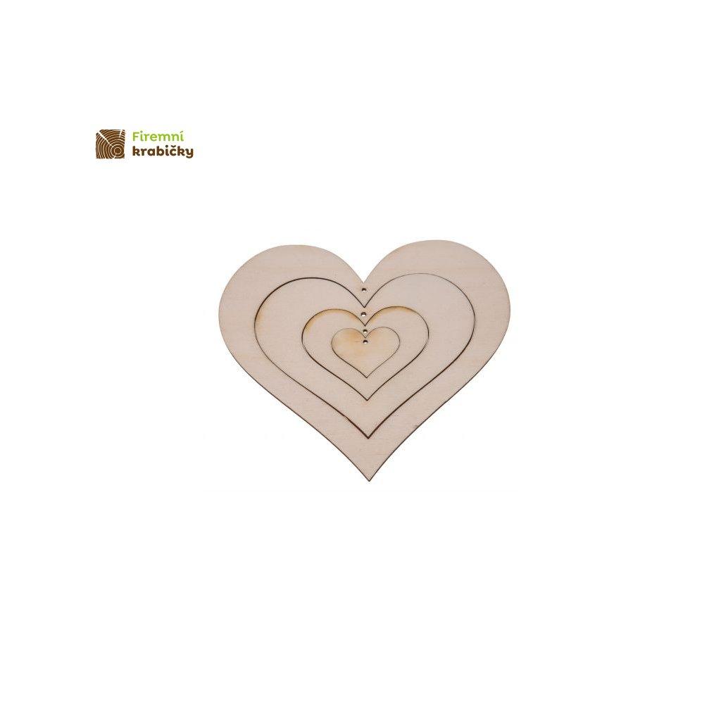 drewniane serce 4w1