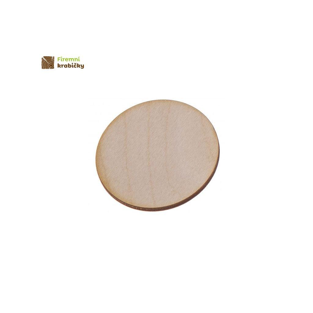 drewniane kolko 2x2 cm 1 szt