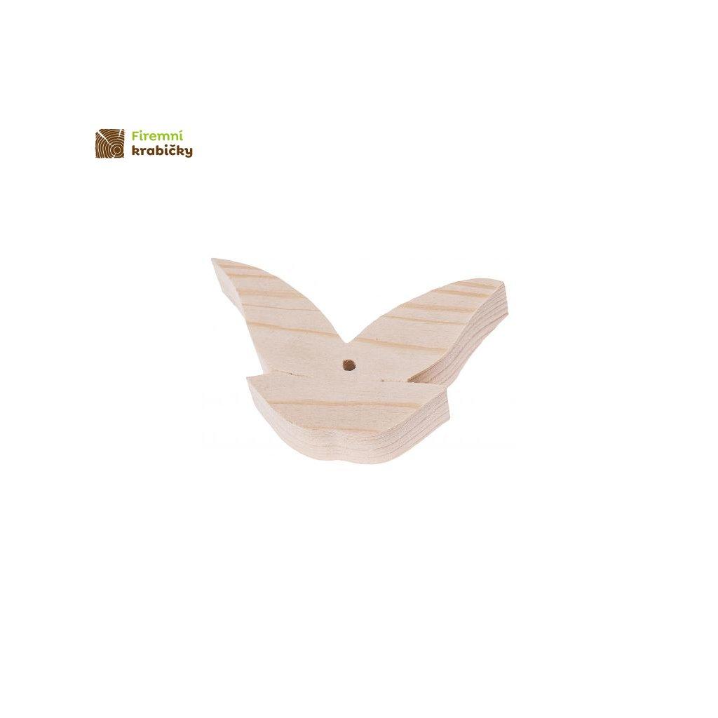 drewniana zawieszka motylek