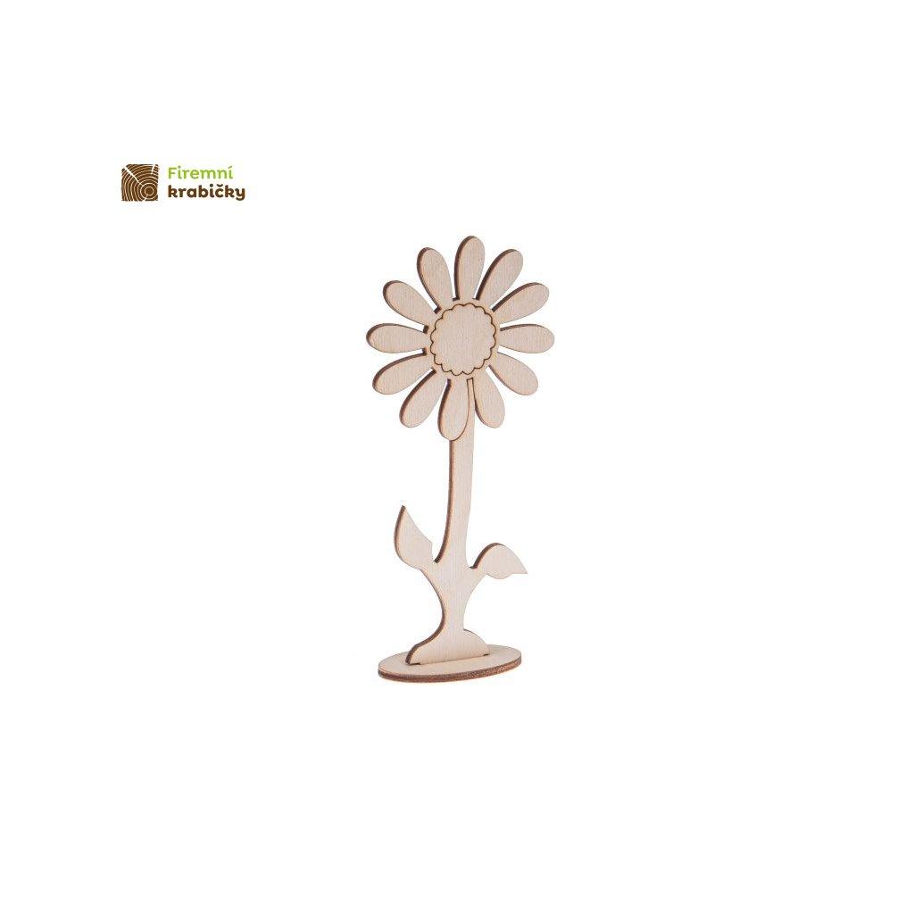drewniany kwiatek 5