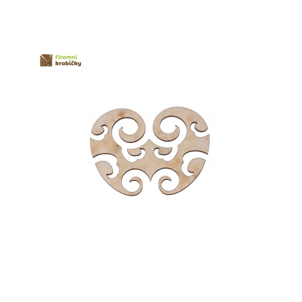 azurowa dekoracja z drewna a4