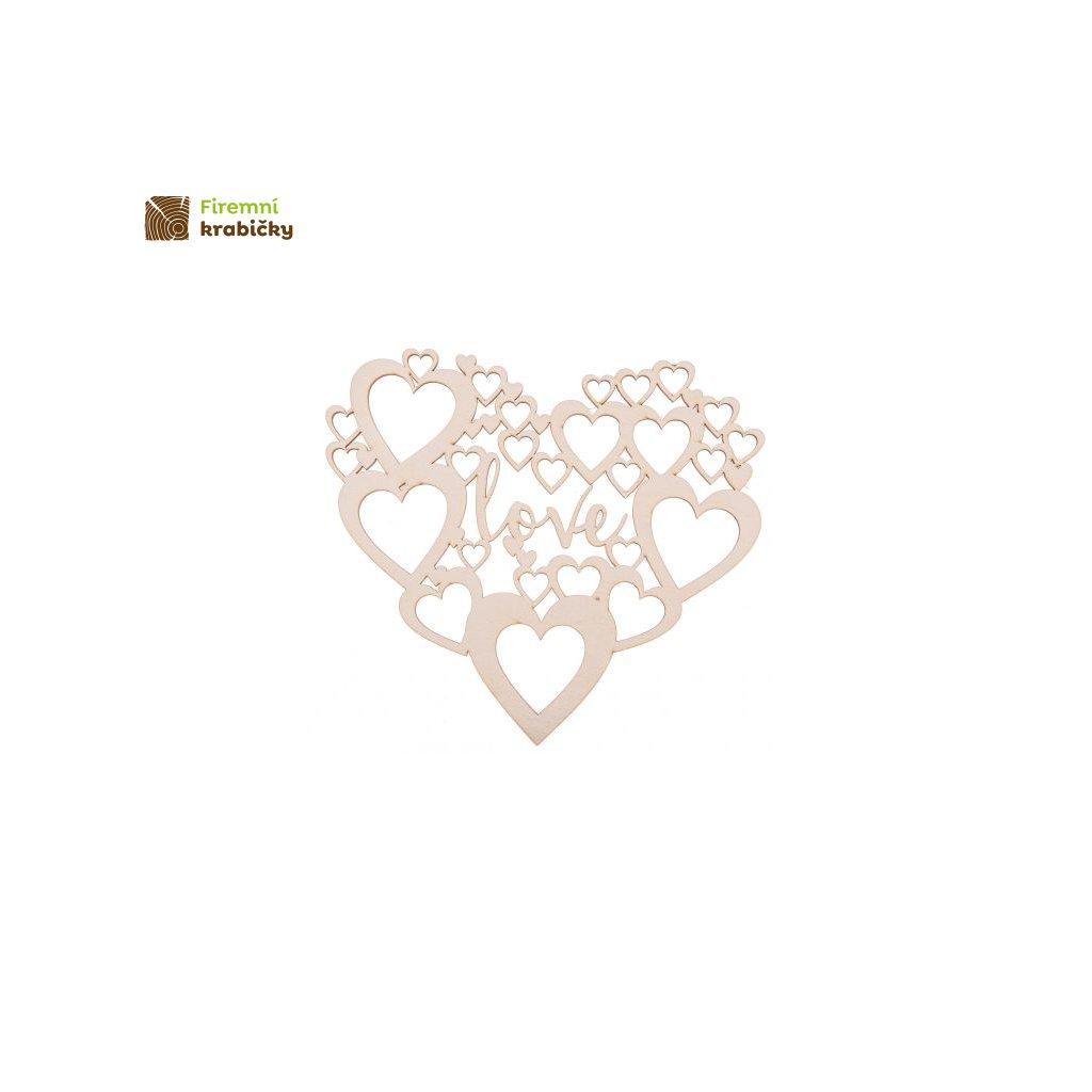 drewniane dekoracje slubne napis love wesele ozdoby serce