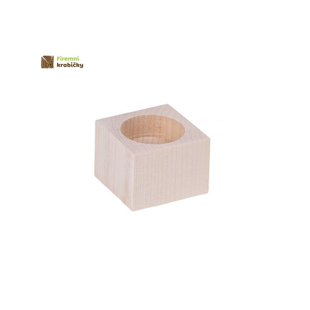 swiecznik kwadrat 4 cm