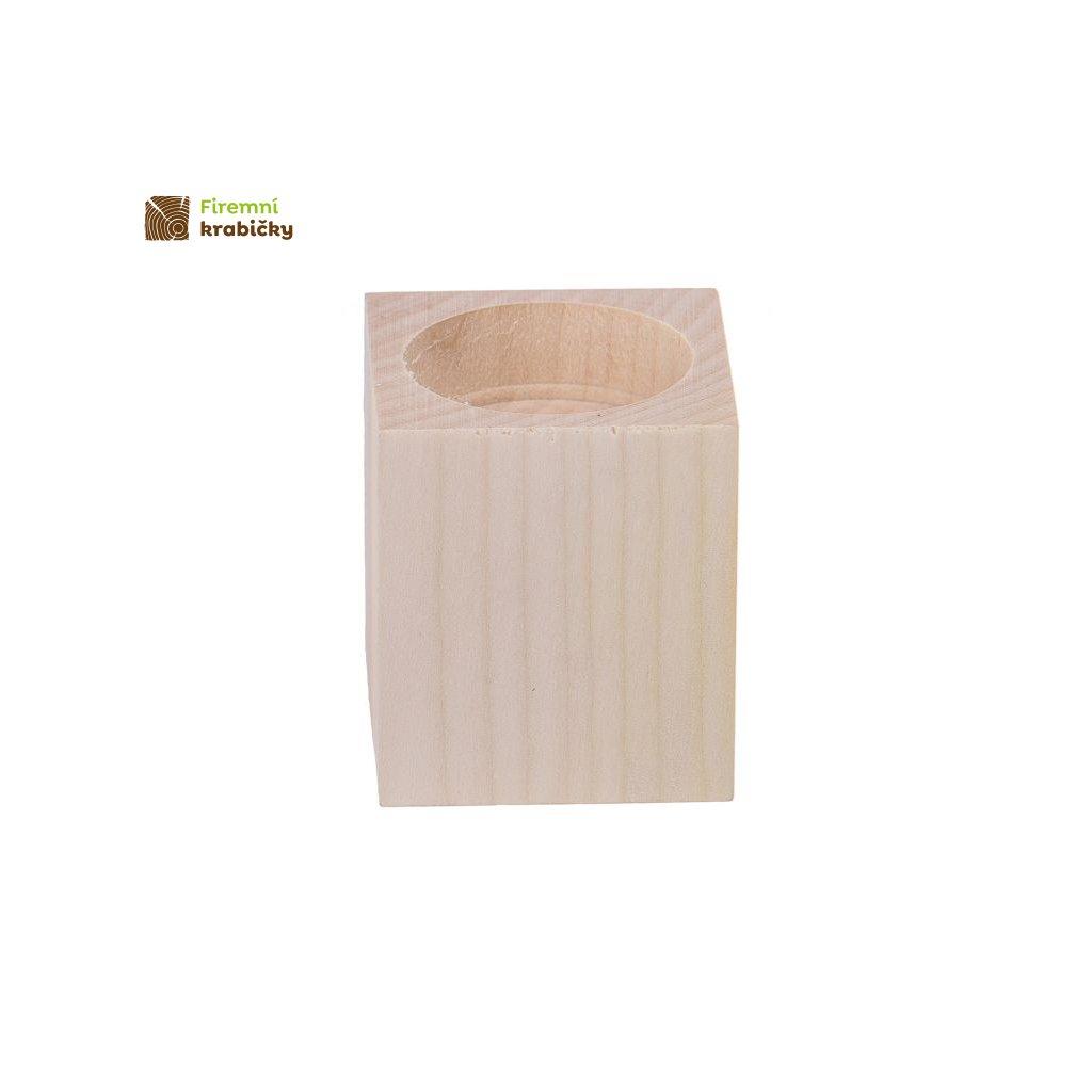 swiecznik kwadrat 6 cm