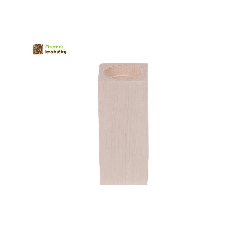 swiecznik kwadrat 12 cm