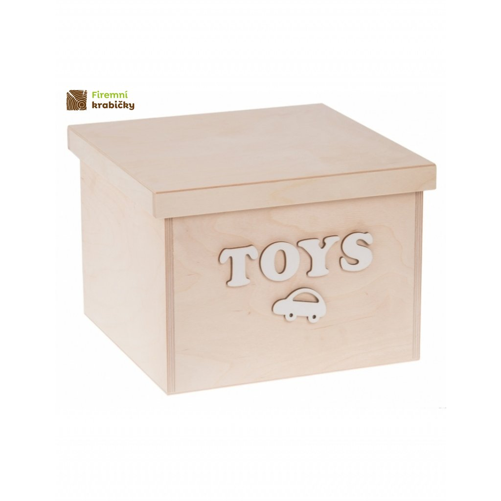 12218 dreveny box na hracky toys maly