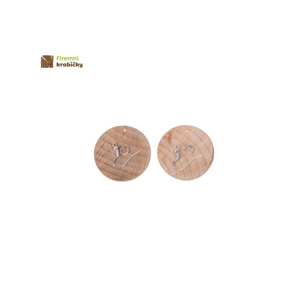 kolczyki drewniane okragle 35 cm 2