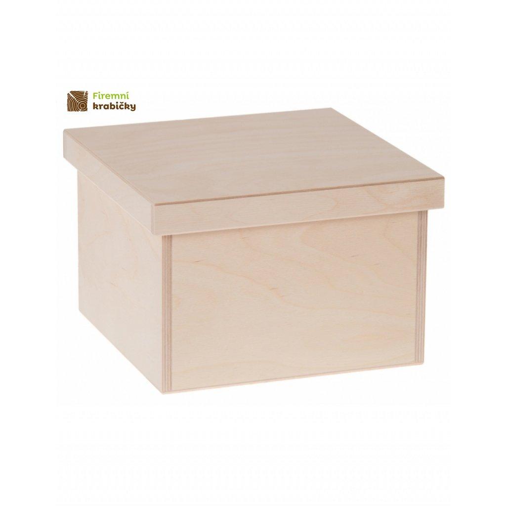 12239 dreveny box na hracky velky