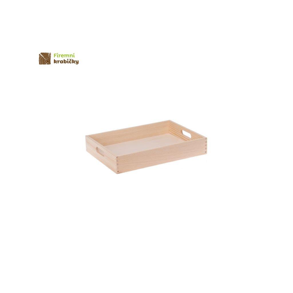 taca drewniana sosnowa 1 30x40 cm