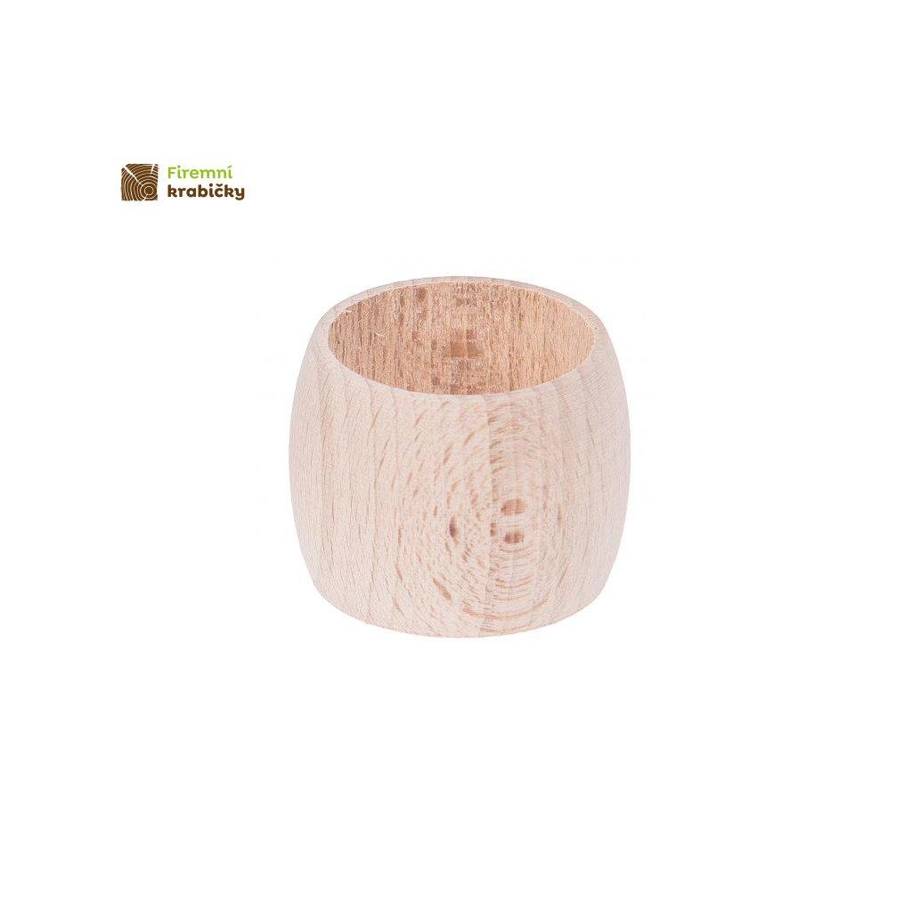 serwetnik owalny drewniany