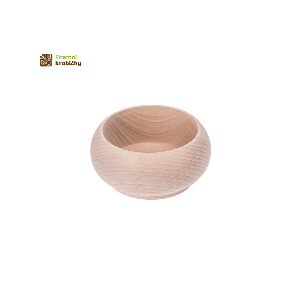 miska drewniana duza