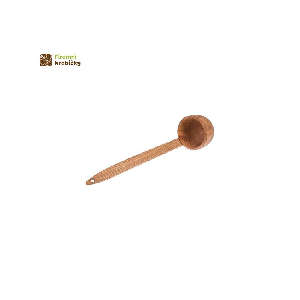 chochla lyzka wazowa czeresniowa 56 cm