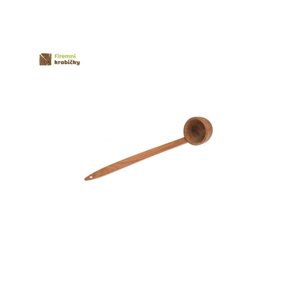 chochla lyzka wazowa czeresniowa 36 cm