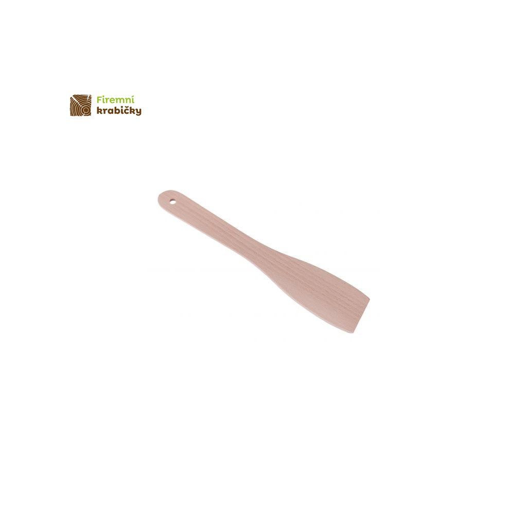 lopatka do tluszczu drewniana 30 cm