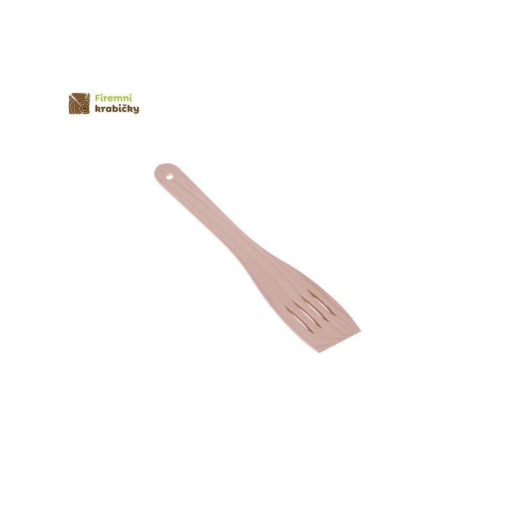 lopatka azurowa drewniana 30 cm