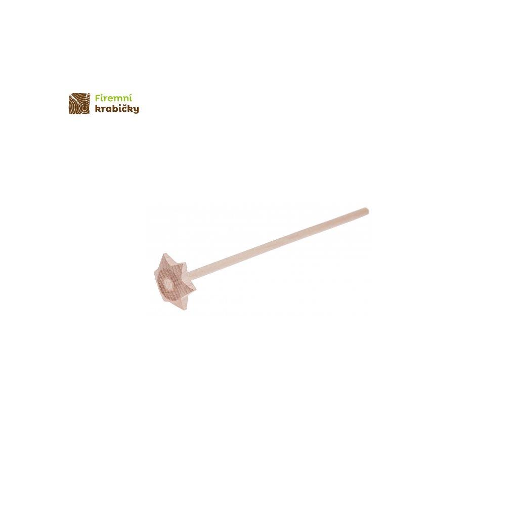 drewniana matewka firlejka 22 cm