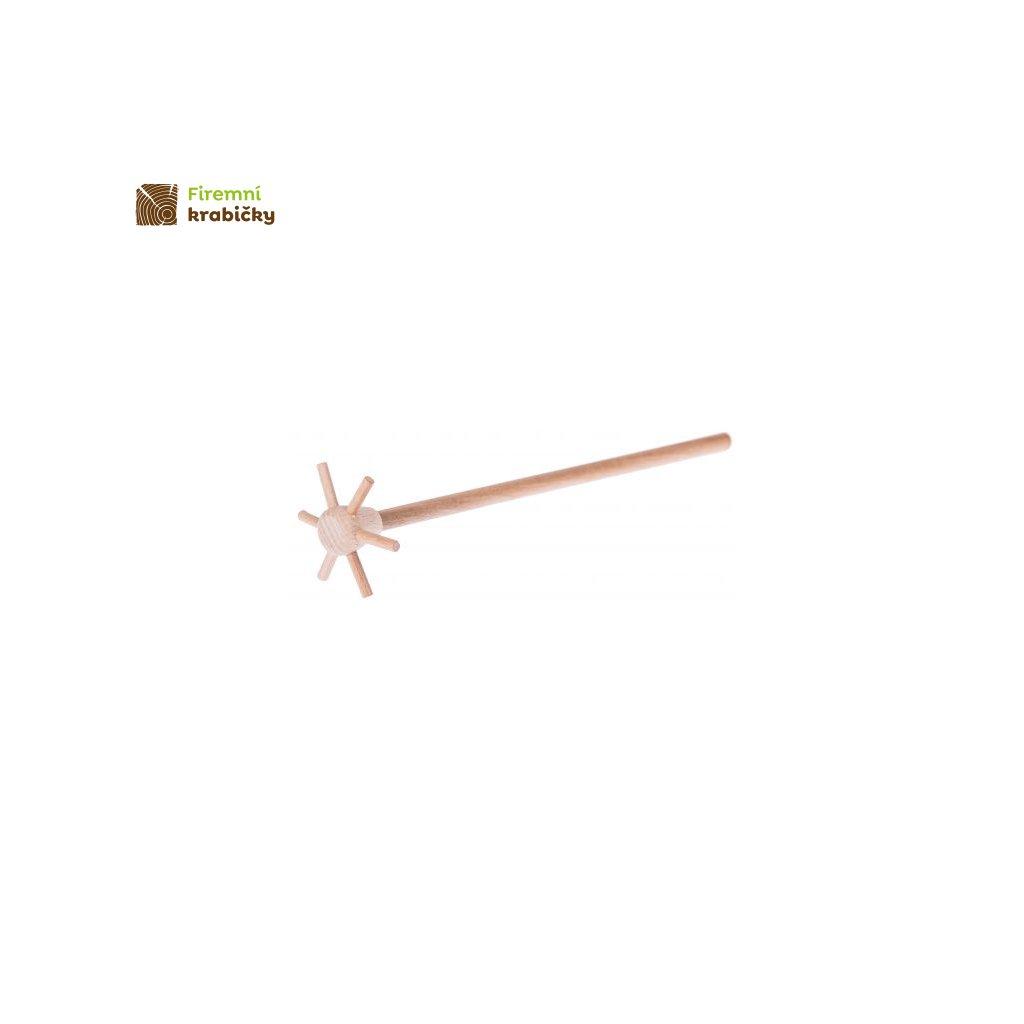 drewniana matewka firlejka 21 cm