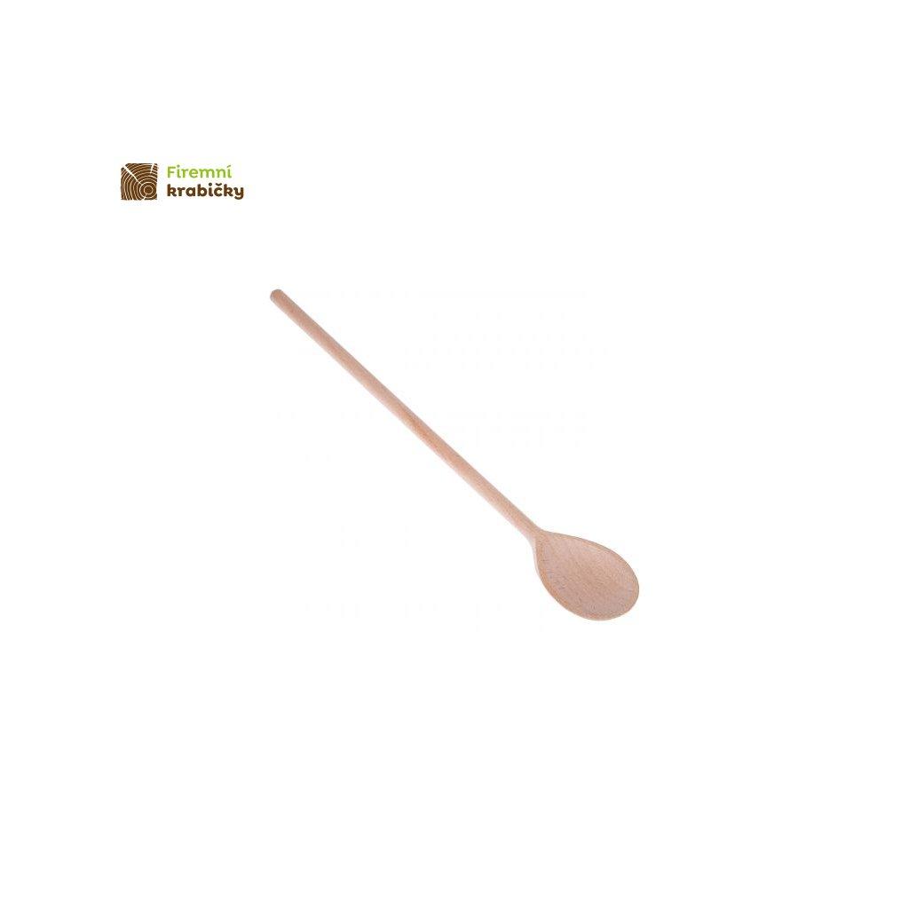 lyzka szwedzka drewniana 40 cm