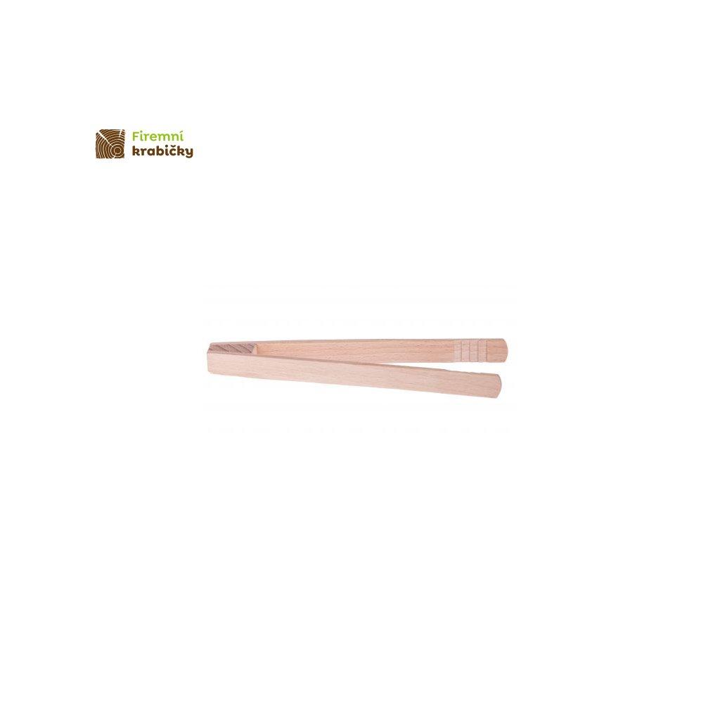 szczypce do ogorkow drewniane 22cm