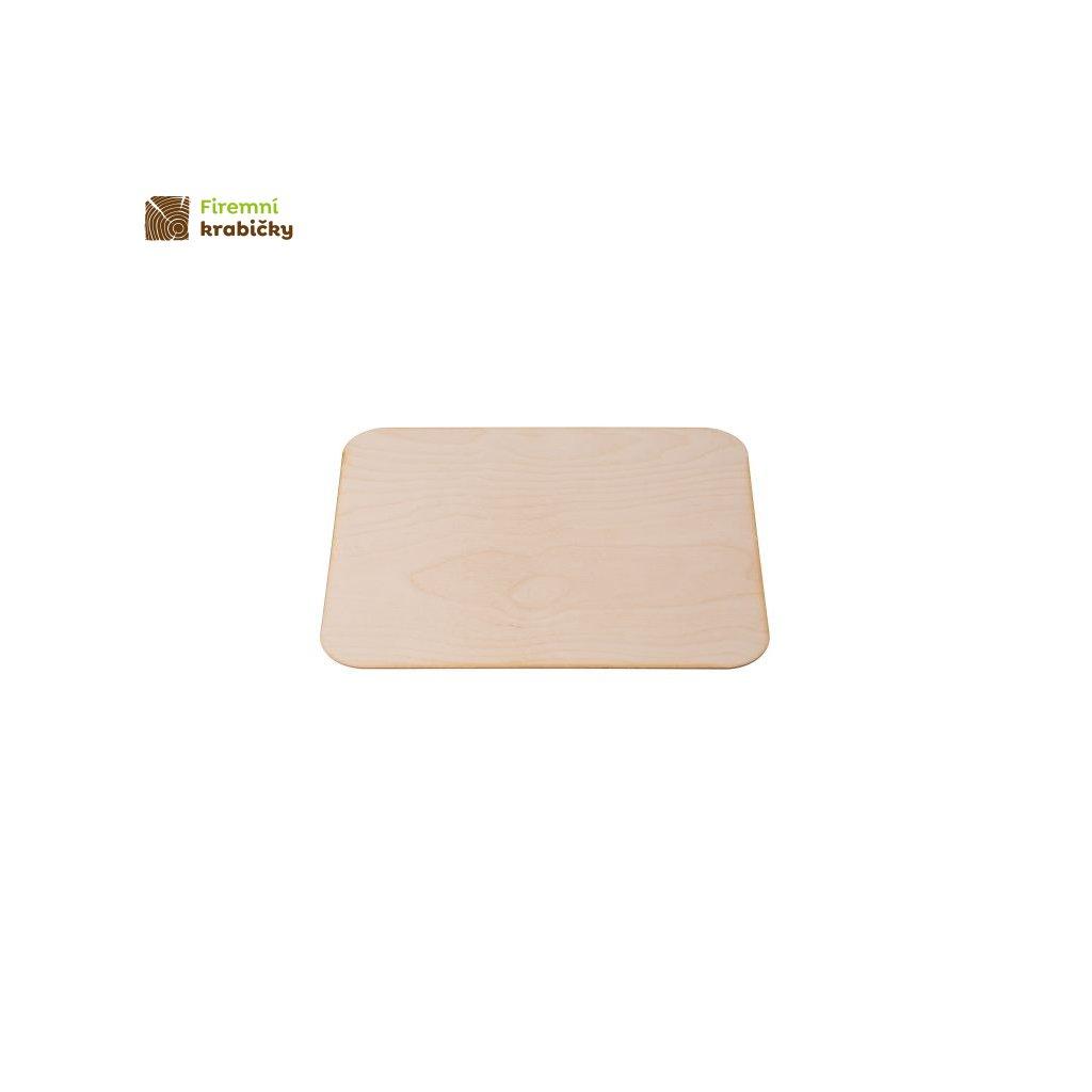 podkladka drewniana prostokatna 355x22 cm