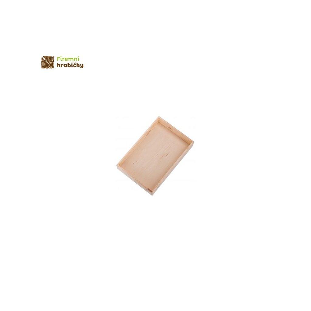 drewniany pojemnik organizer 30x20 cm (1)