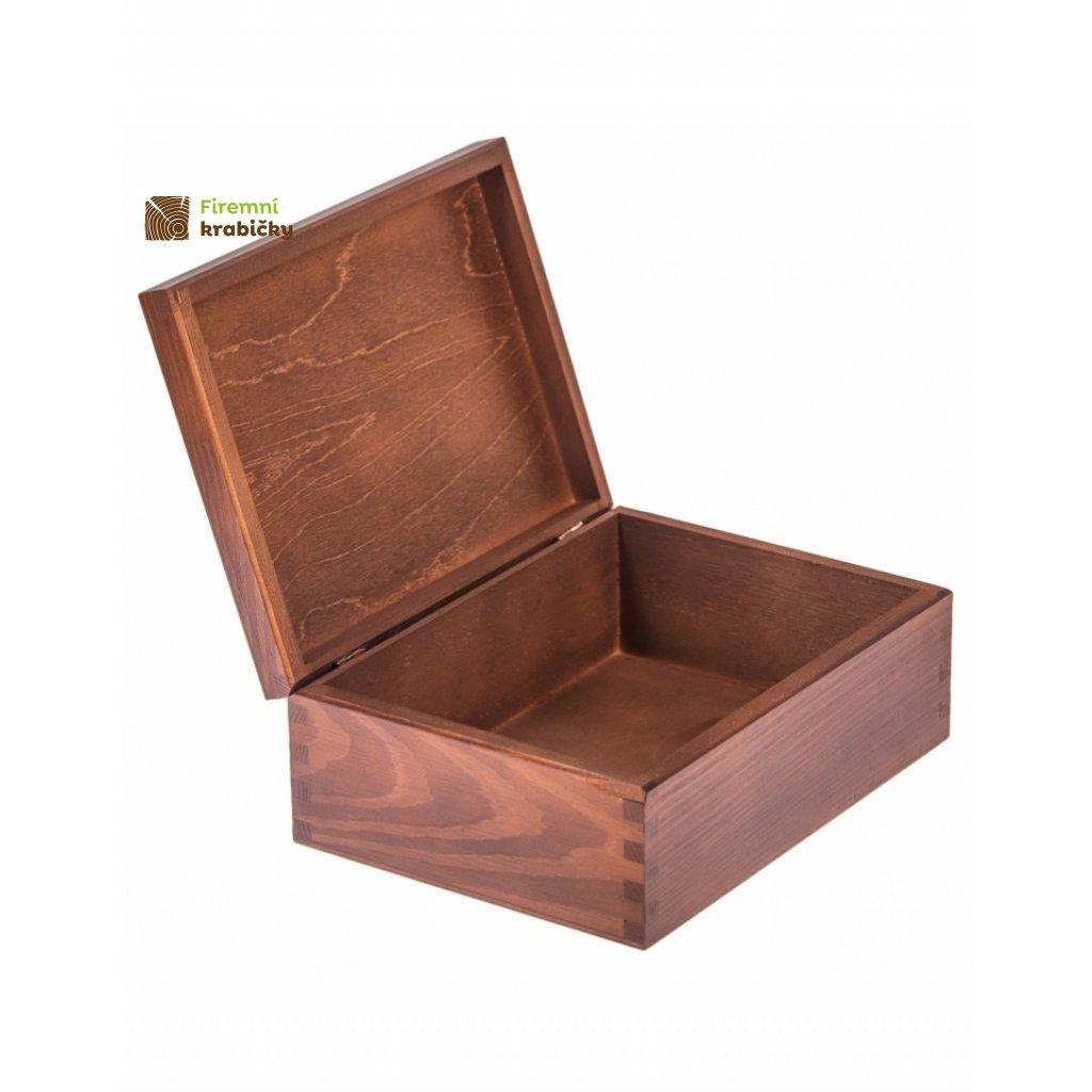 11786 drevena krabicka orech