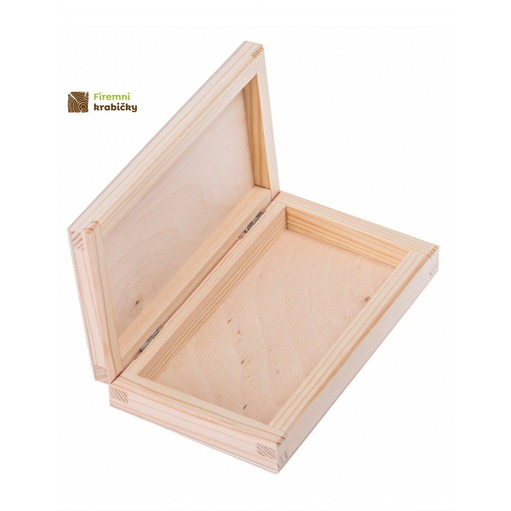 11810 drevena krabicka plocha